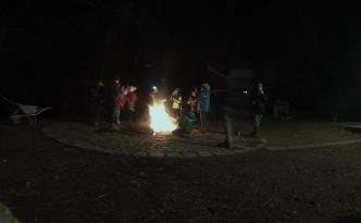 Steckerlbrot und Feuer